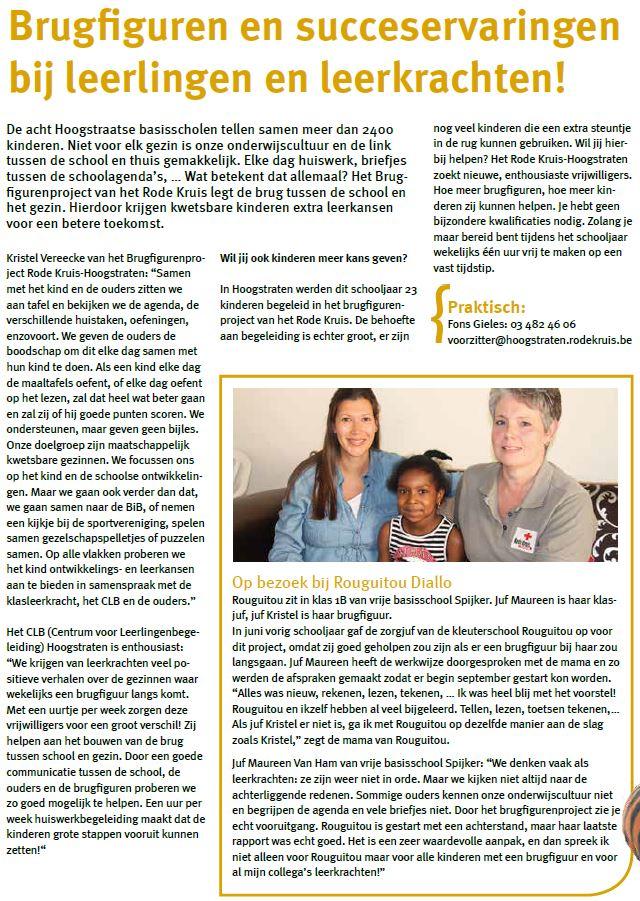 Brugfiguren Rode Kruis Hoogstraten - Info'zine Juni 2019