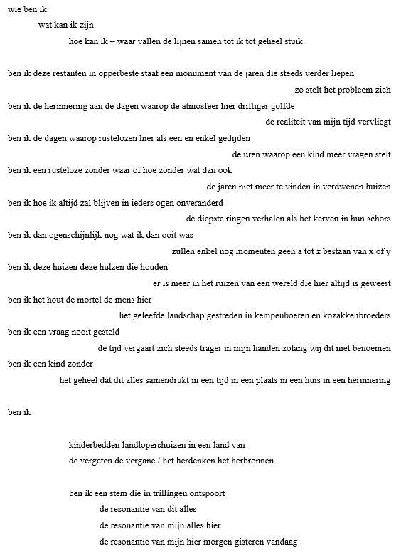Stadsdichter Hoogstraten Stad Hoogstraten