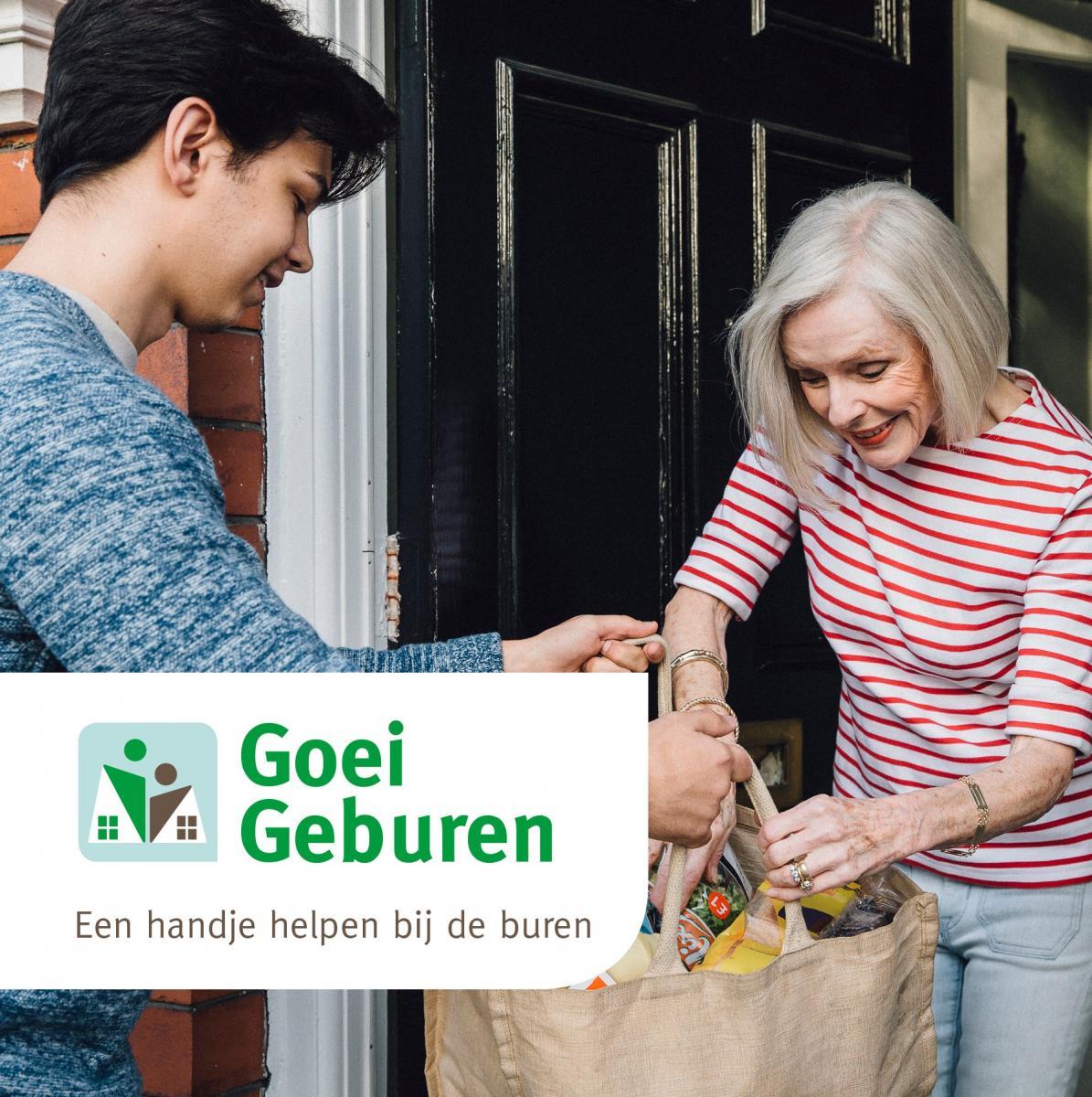 Goei Geburen, een helpende hand bij de buren.