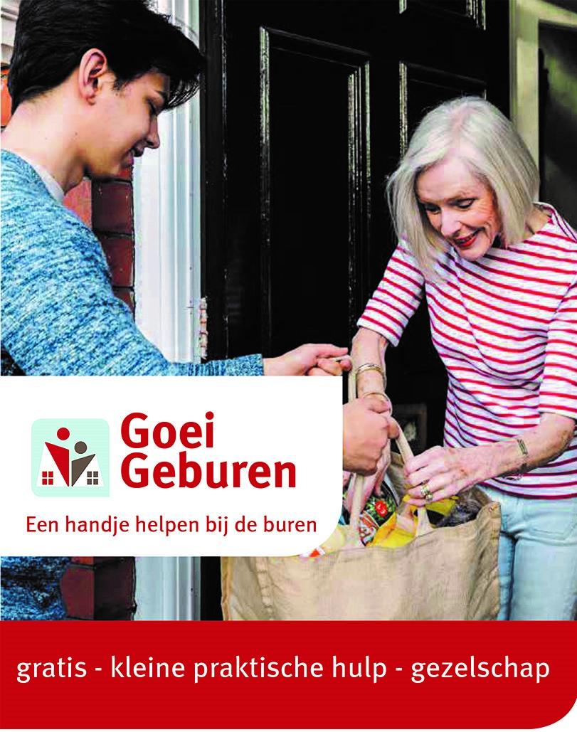Goei Geburen helpen een handje bij een buur.