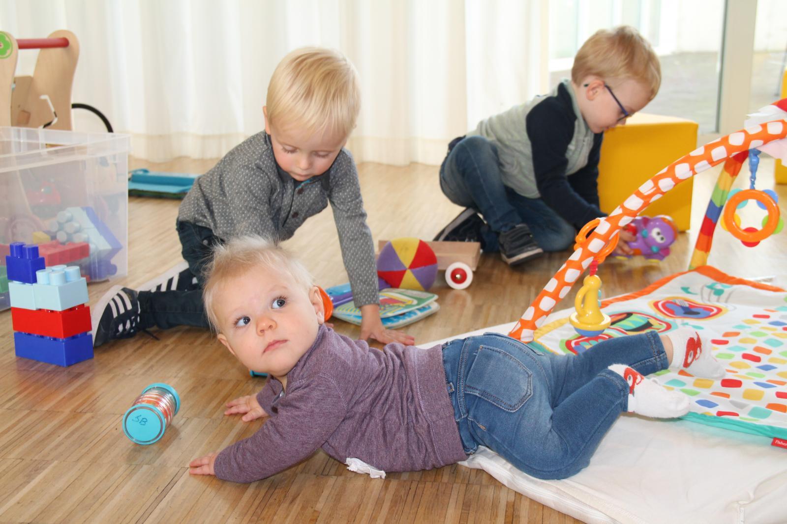 spelende kinderen bij De Speelbabbel