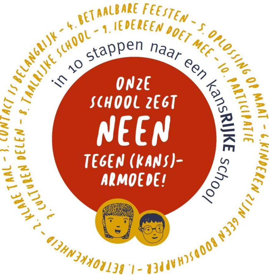 Onze school zegt NEEN tegen kansarmoede Hoogstraten