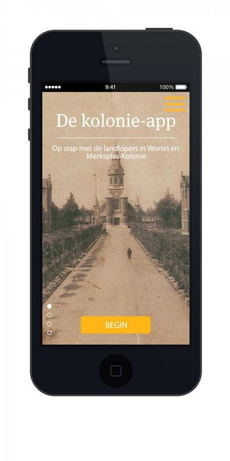 De kolonie-app