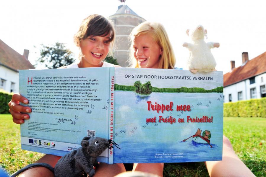 Trippel mee met Fredje & Fraisellie | Foto: Evelien Jansen