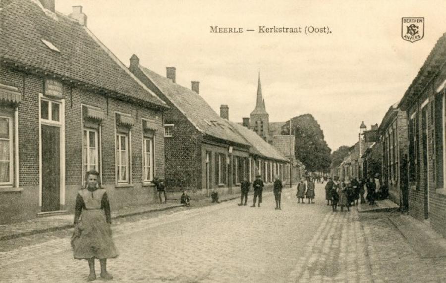 Oude postkaart Meerle