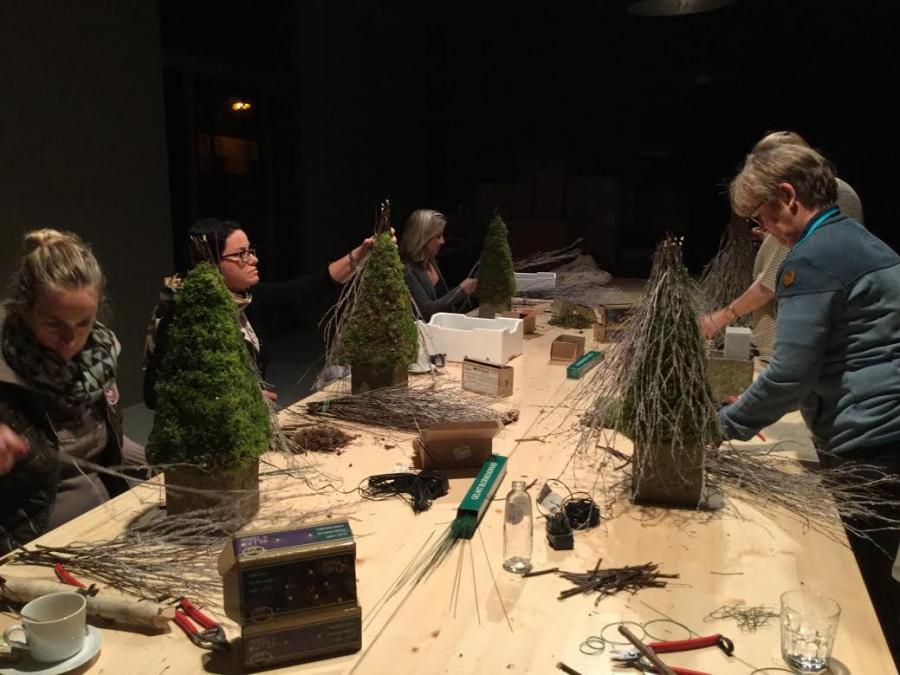 Workshop bloemschikken Pothuis