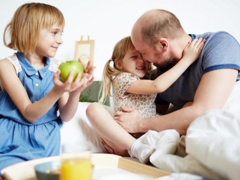 NIEUWE DATUM Vaderdag ontbijt op bed © Gezinsbond VZW