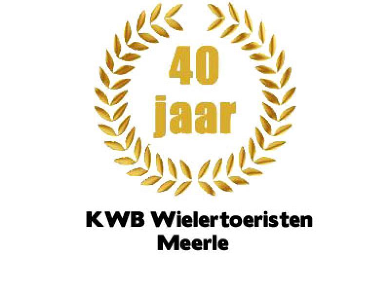 Logo van ons 40 jaar bestaan © zelf gemaakt