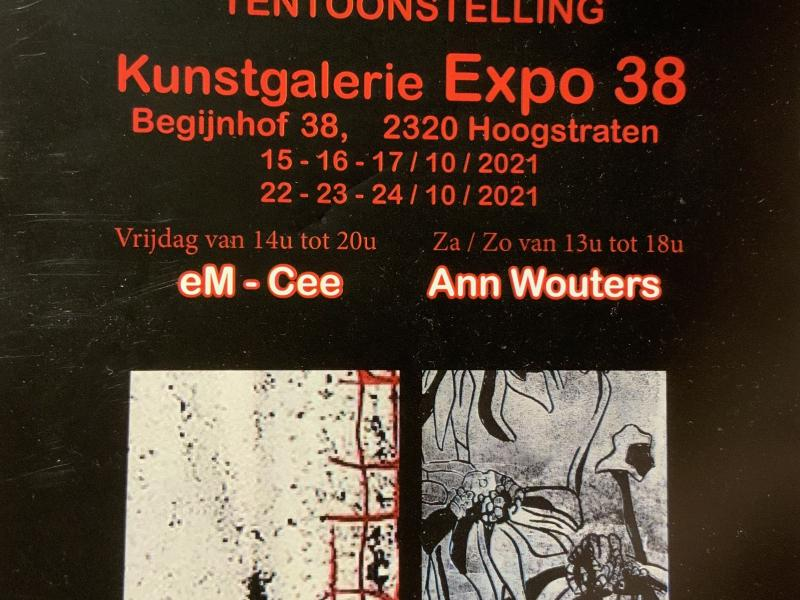 Expo Ann Wouters & eM-Cee © Ann Wouters