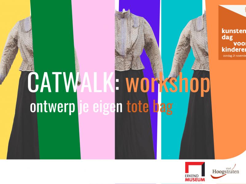 CATWALK: ontwerp zelf je tote bag (workshop) © Stedelijk Museum Hoogstraten