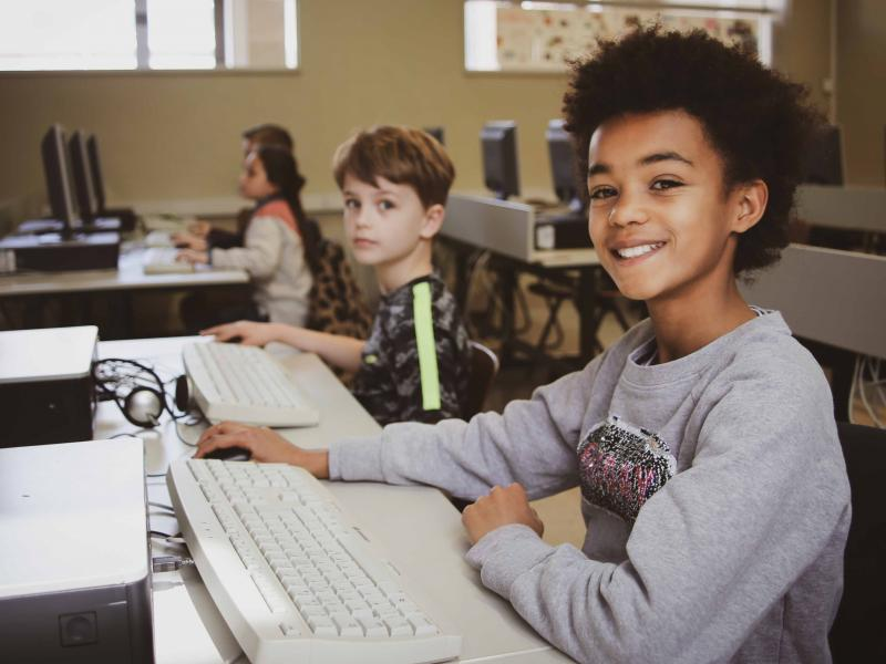 Leer programmeren met CodeFever bij de CodeKraks © vzw CodeFever