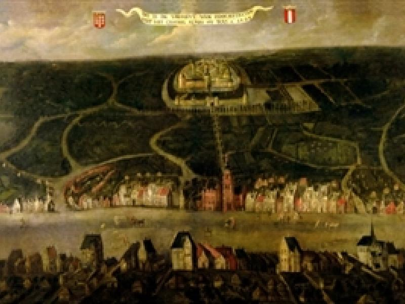 Historisch beeld van Hoogstraten