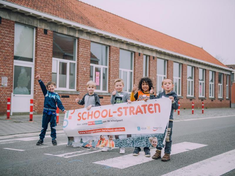 school-straten, scharrel, schoolstraat