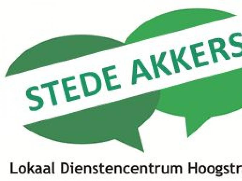 Logo lokaal dienstencentrum Stede Akkers