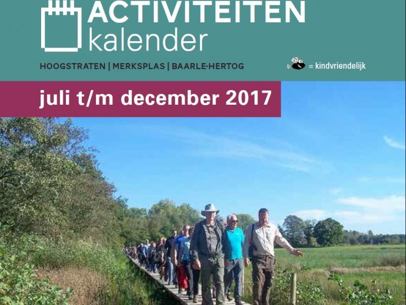 Activiteitenkalender Land van Mark & Merkske 2017 - Deel II