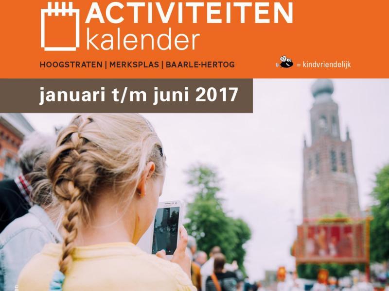 Activiteitenkalender Land van Mark & Merkske 2017