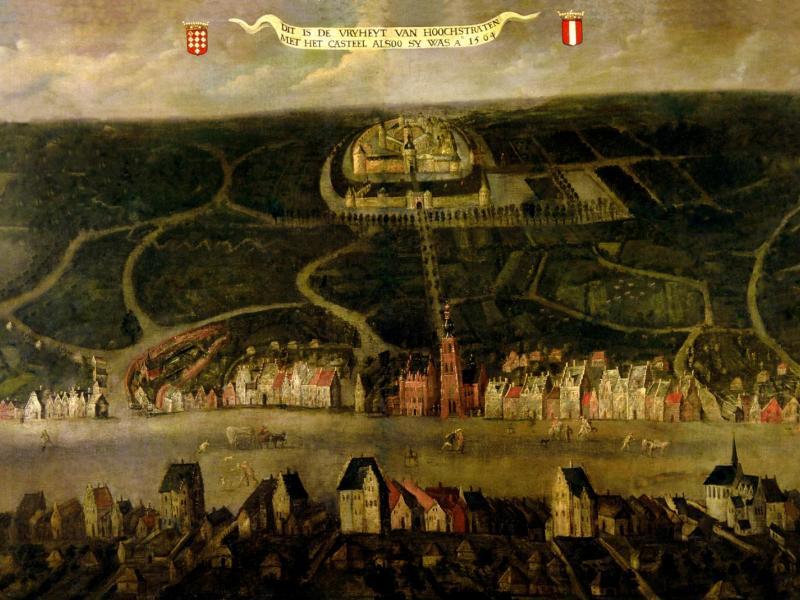 Hoogstraten in 1564