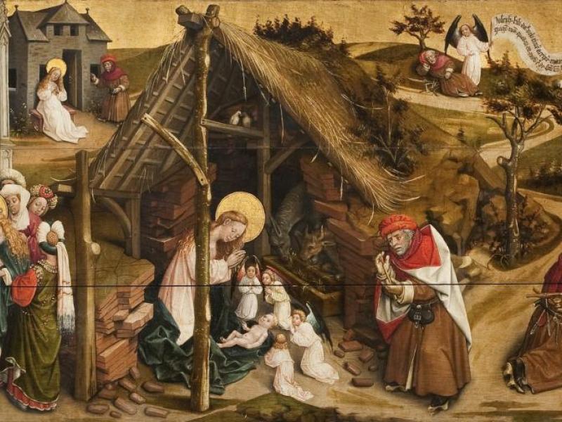 Taferelen uit het leven van de Heilige Jozef - KIK-IRPA, Brussel