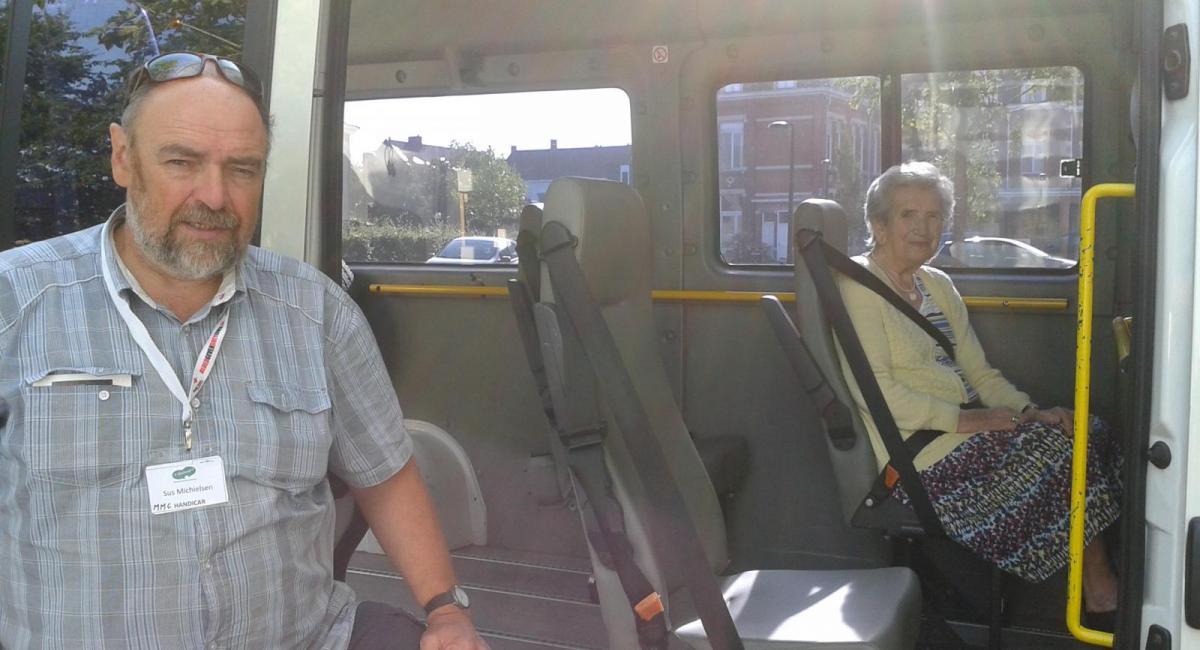Dienst aangepast vervoer - Handicar
