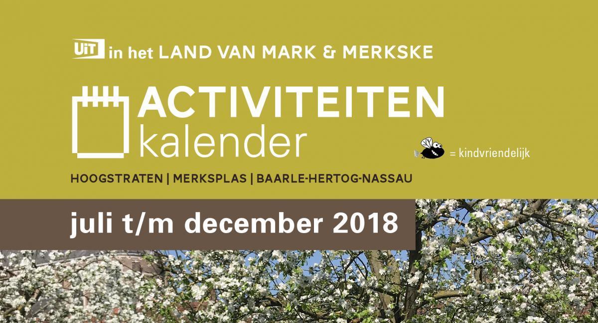 Activiteitenkalender najaar 2018