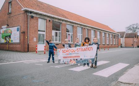 Schoolstraat Minderhout