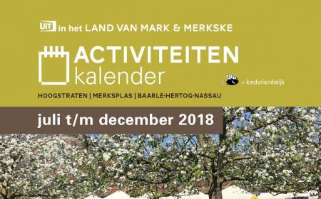 Activiteitenkalender Land van Mark & Merkske 2018
