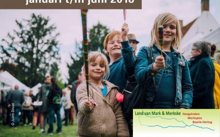 Activiteitenkalender Land van Mark & Merkske voorjaar 2018