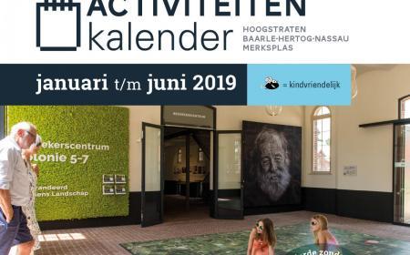 Cover Activiteitenkalender 2019