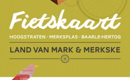 Cover fietskaart Land van Mark & Merkske
