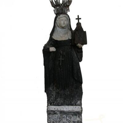 Beeld van de Heilige Begga