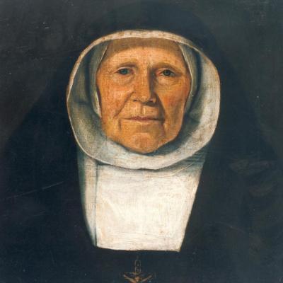 Portret van een begijn