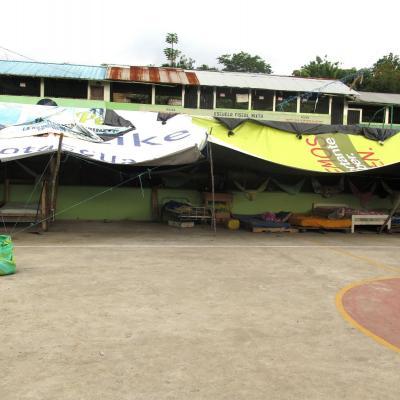 Met de steun van 3 Vlaamse gemeenten werden 110 hygiënische noodhulpkits afgegeven en 18 waterfilters geïnstalleerd in tentenkampen en herbergen.