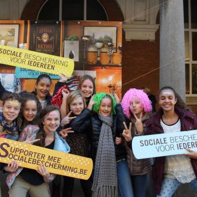 Campagne 11.11.11 in middelbare scholen