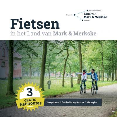 Fietsbrochure Land van Mark & Merkske 2019