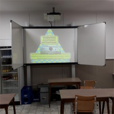 Projector in vergaderlokaal